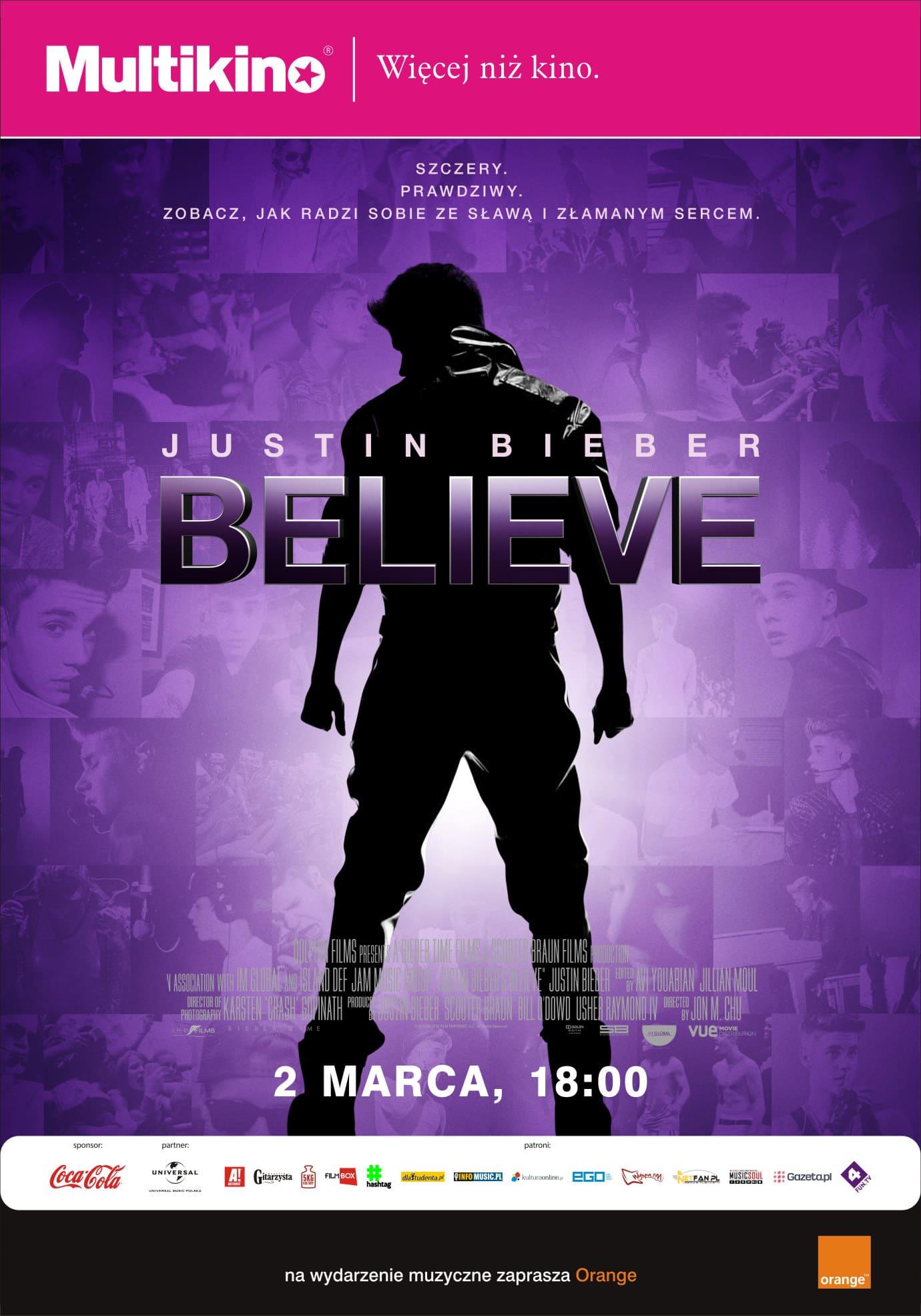 21ste urodziny Justina Biebera_PLAKAT
